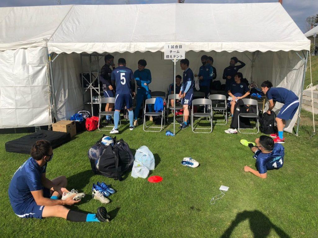FCアビエス-第27回全国クラブチームサッカー選手権大会(2020)控えテント3
