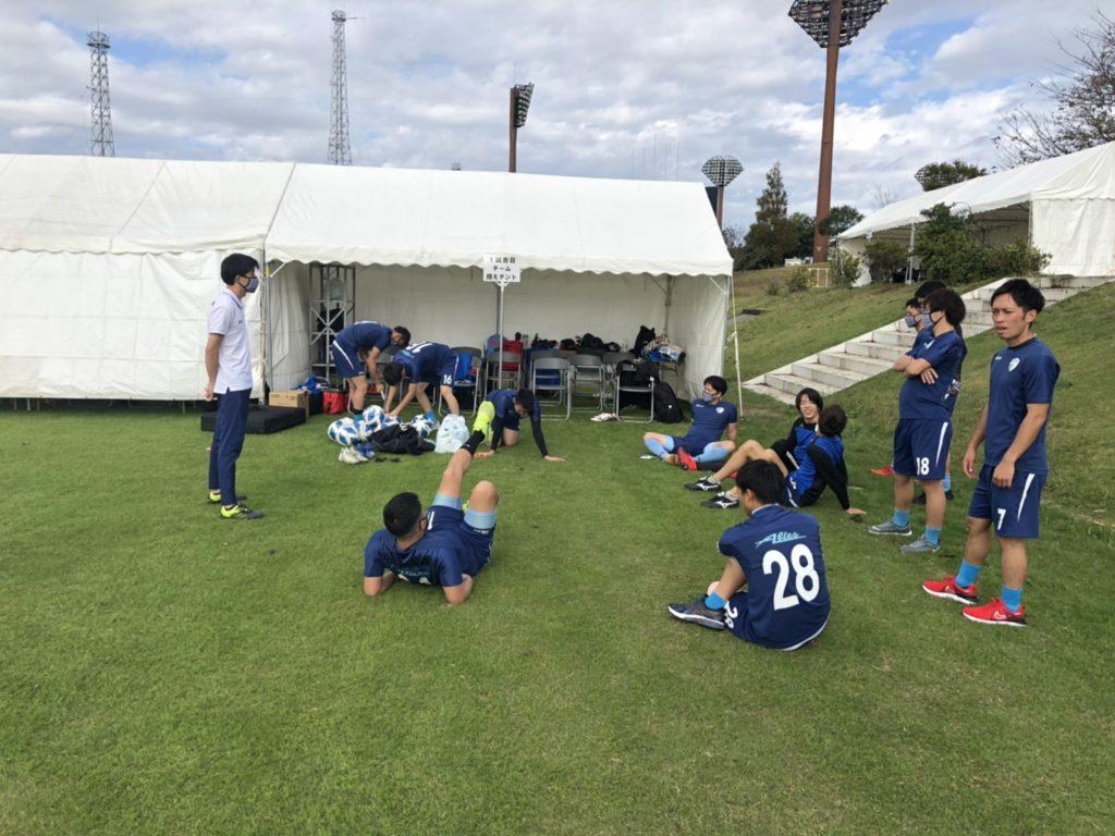 FCアビエス-第27回全国クラブチームサッカー選手権大会(2020)控えテント4