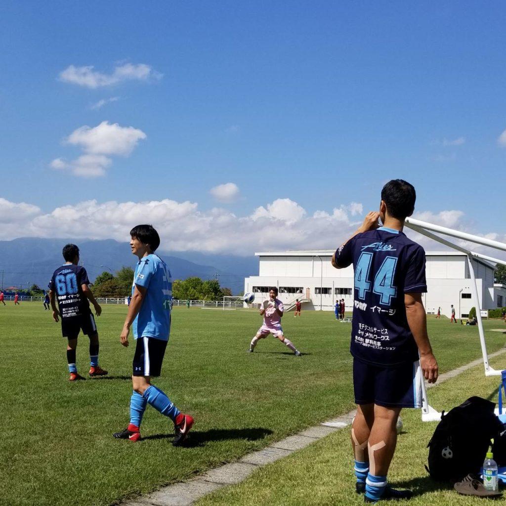 FCアビエス-2020長野県シニアサッカー40リーグ~第8節~試合前