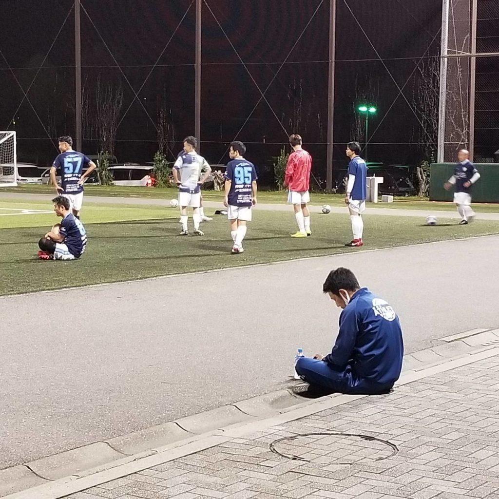 FCアビエス-2020長野県シニアサッカー40リーグ~第11節~試合前