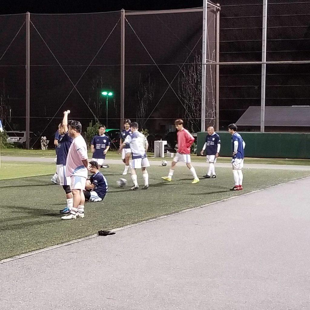 FCアビエス-2020長野県シニアサッカー40リーグ~第11節~試合前ウォーミングアップ