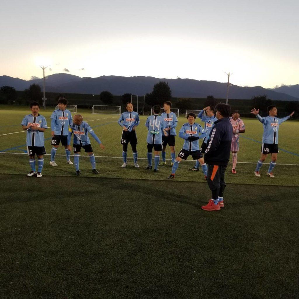 FCアビエス-2020長野県シニアサッカー40リーグ~第12節~整列