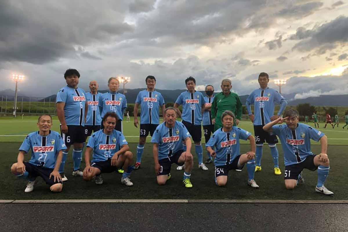 FCアビエス-2020長野県シニアサッカー50リーグ~第1節~集合写真