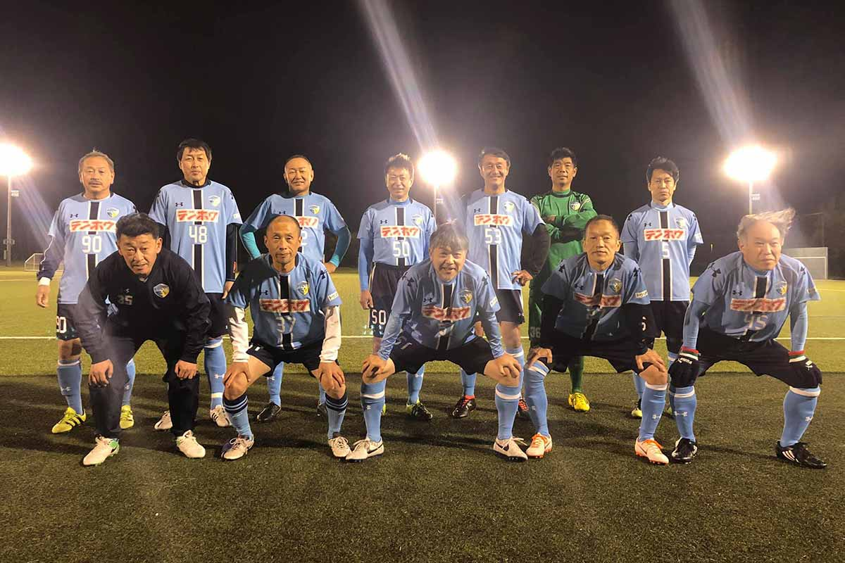 FCアビエス-2020長野県シニアサッカー50リーグ~第10節~集合写真