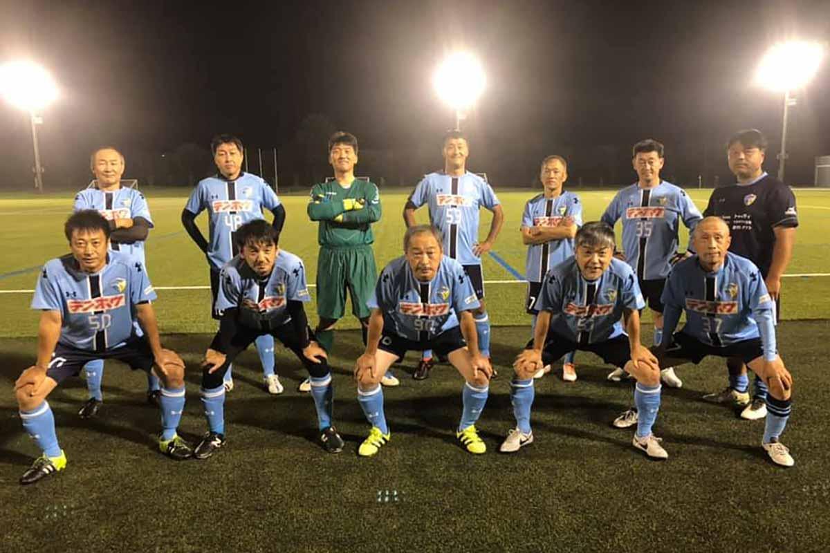 FCアビエス-2020長野県シニアサッカー50リーグ~第13節~集合写真
