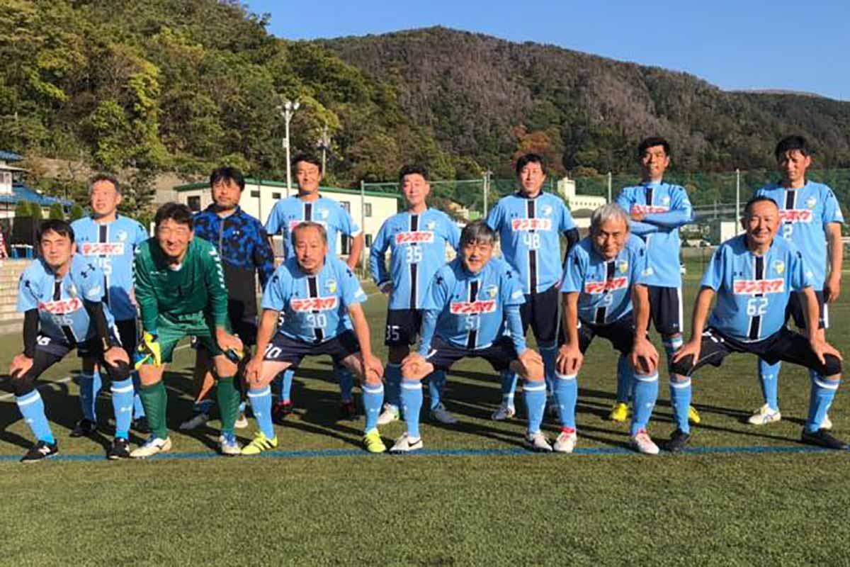 FCアビエス-2020長野県シニアサッカー50リーグ~第5節~集合写真-かりがねサッカー場