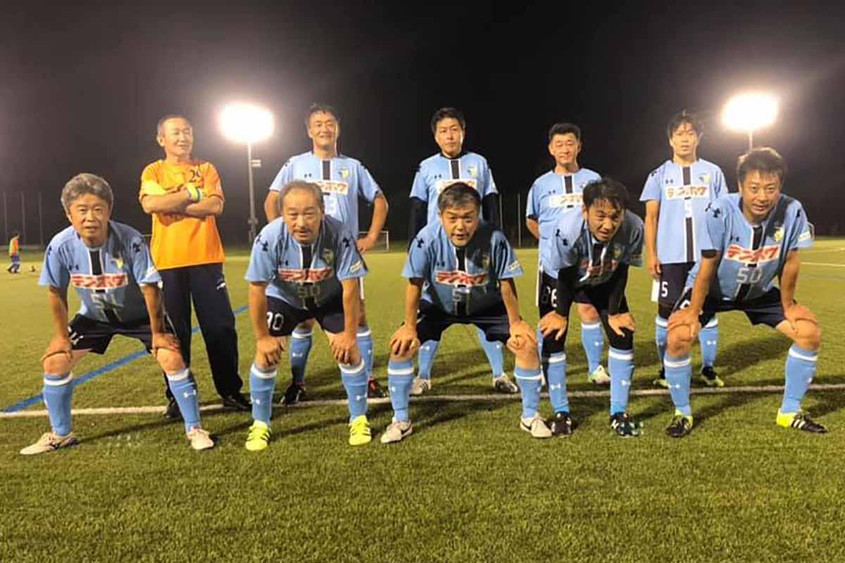 FCアビエス-2020長野県シニアサッカー50リーグ~第9節~集合写真