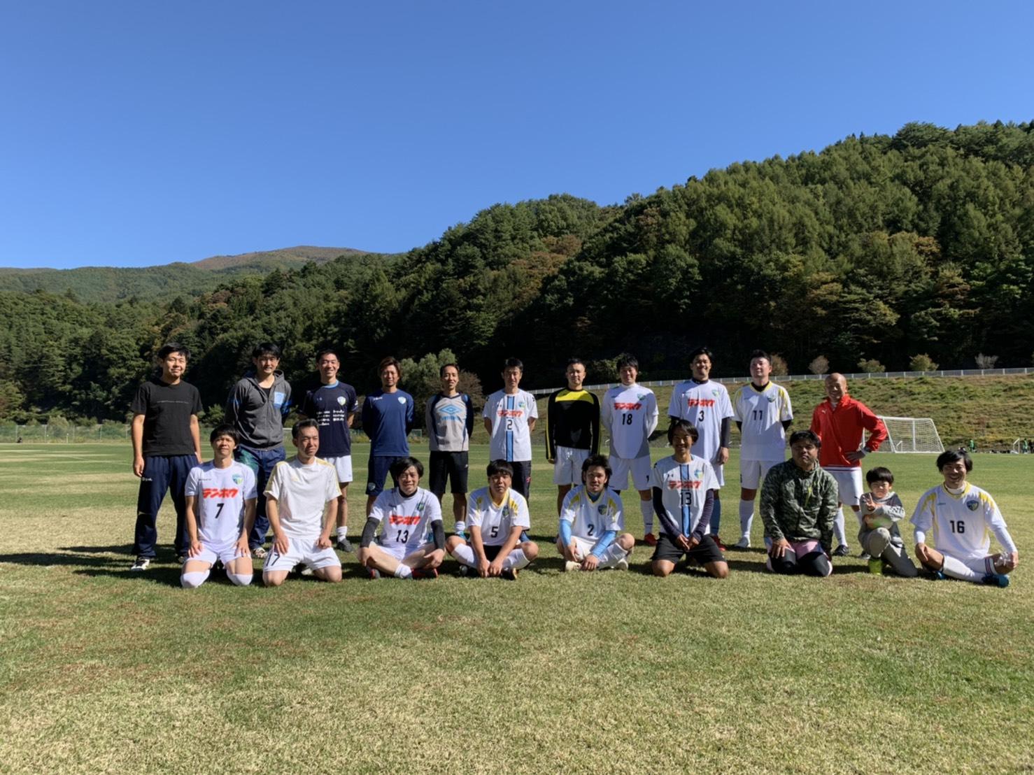 FCアビエス-2020長野県シニアサッカー南信35リーグ~第3節~集合写真