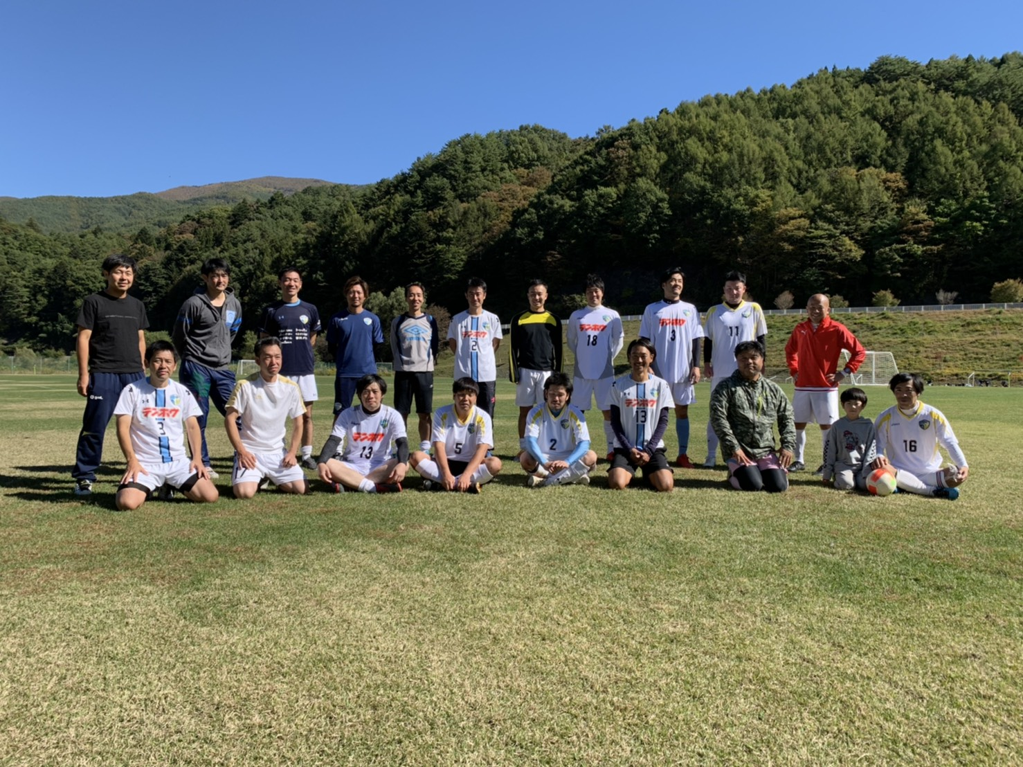 FCアビエス-2020長野県シニアサッカー南信35リーグ~第3節~美和湖
