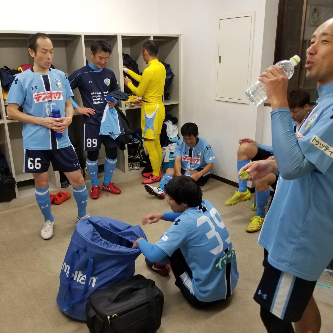 FCアビエス-2020長野県シニアサッカー40リーグ~第13節~ロッカールーム