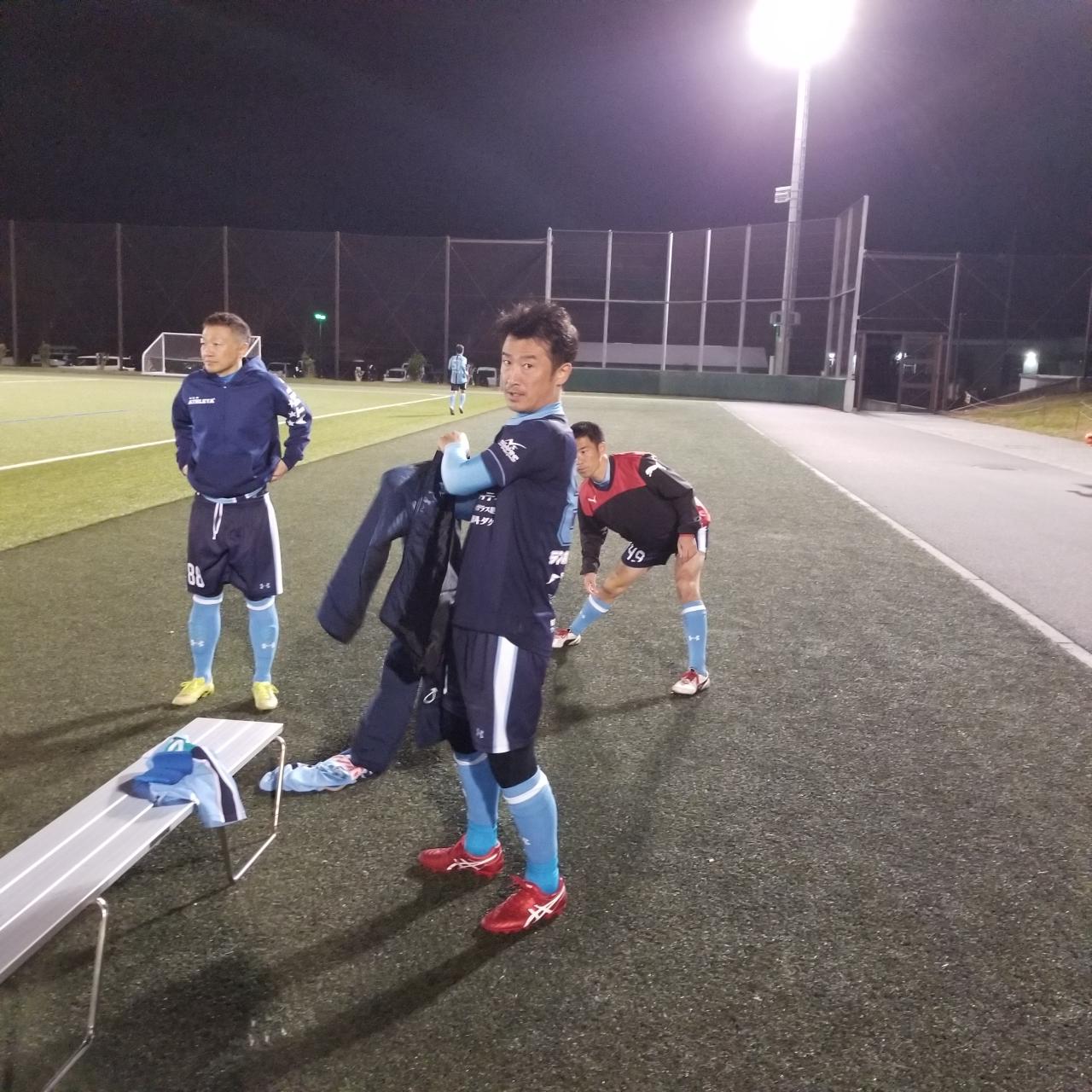 FCアビエス-2020長野県シニアサッカー40リーグ~第13節~準備