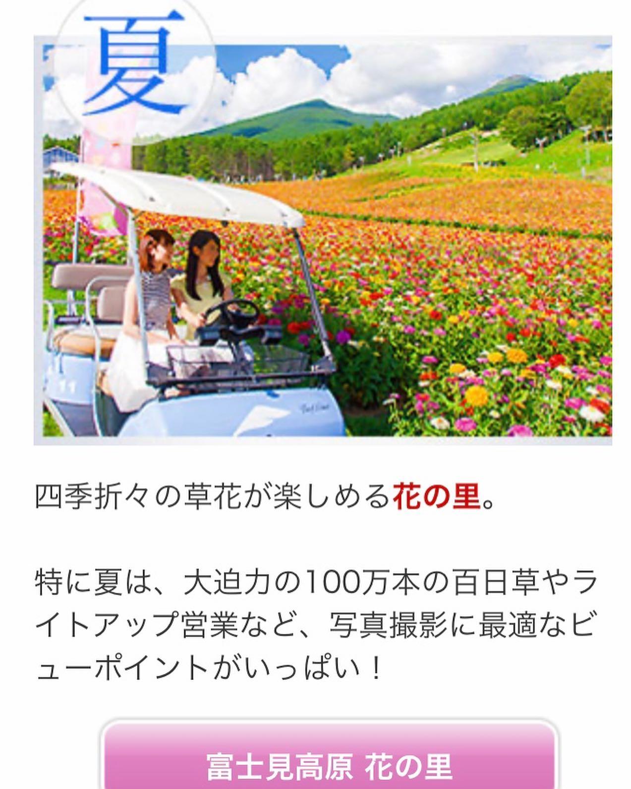 アビエス2020パートナー紹介-富士見高原リゾート-夏