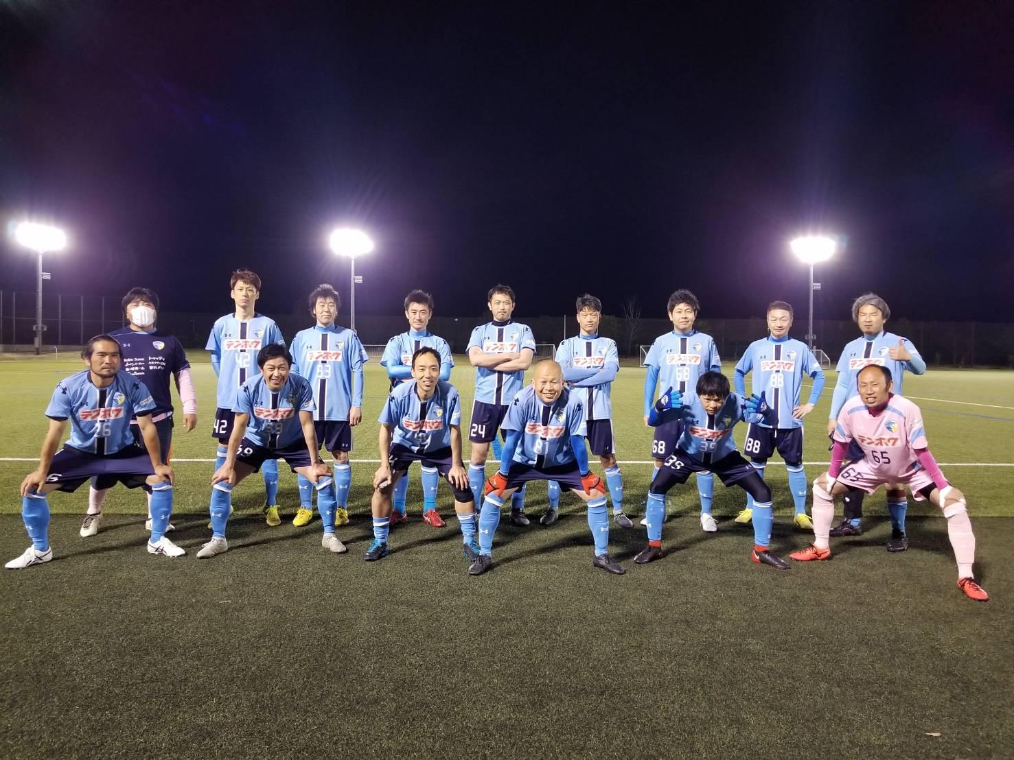 FCアビエスシニア40リーグ-開幕戦-集合写真