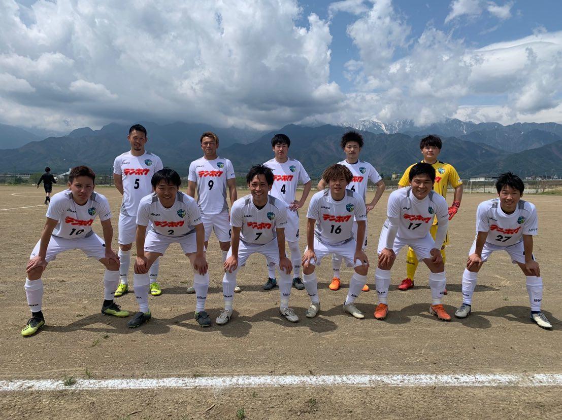 第57回全国社会人サッカー選手権長野県大会-1試合目