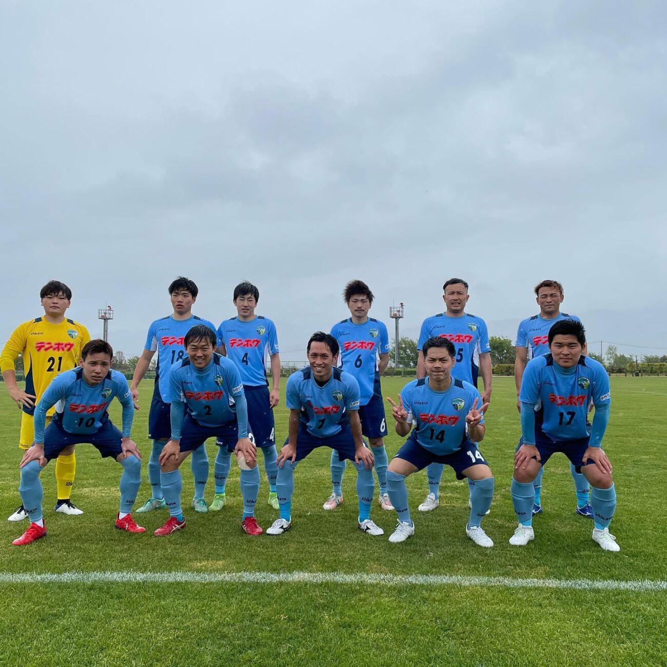 第57回全国社会人サッカー選手権長野県大会-準々決勝-集合写真