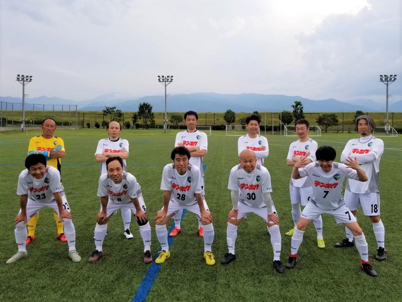 FCアビエスシニア40リーグ-第7節-集合写真