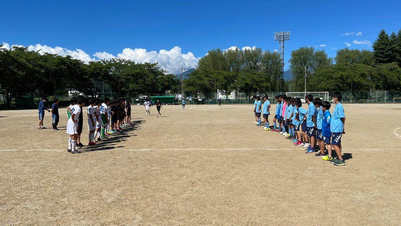 ジュニアユースTM-FCアビエスvsアザリー飯田