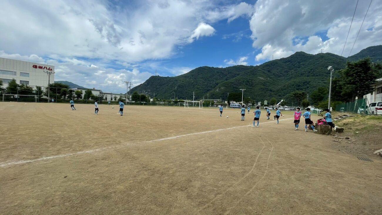 FCアビエスジュニアユーストレーニングマッチ-上田西高校1年生