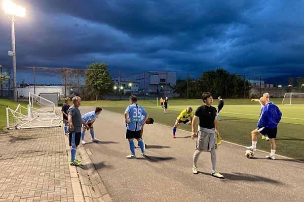 2021長野県シニア55カップサッカー大会-1試合目FCアビエスvsサンワSC
