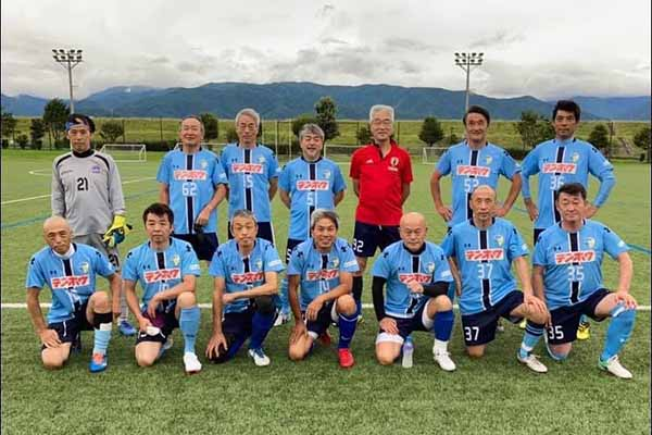 2021長野県シニア55カップサッカー大会-2試合目FCアビエスvsFCリョウ