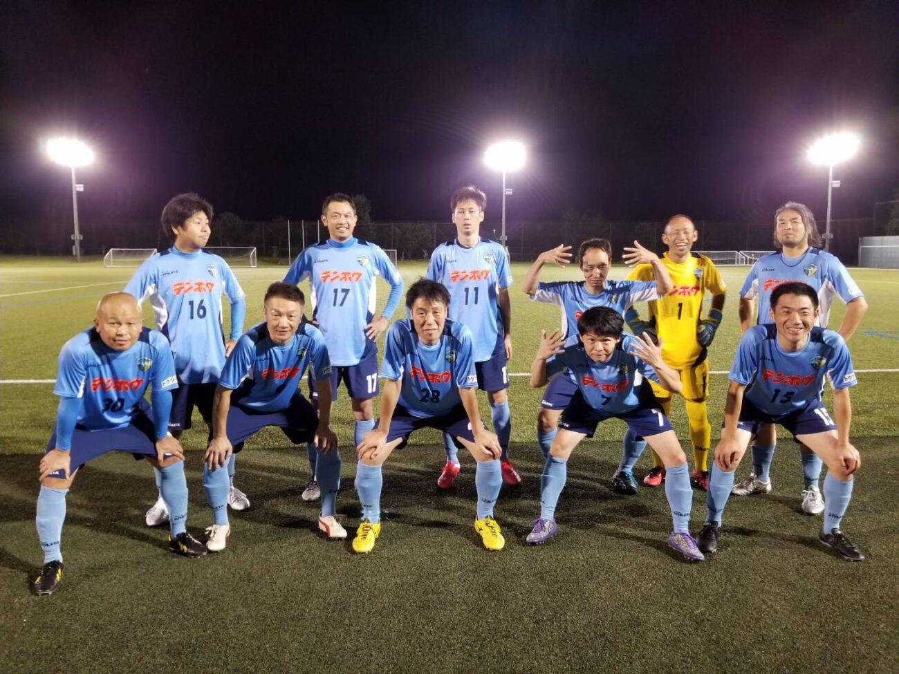 長野県シニア40リーグ-第12節-集合写真