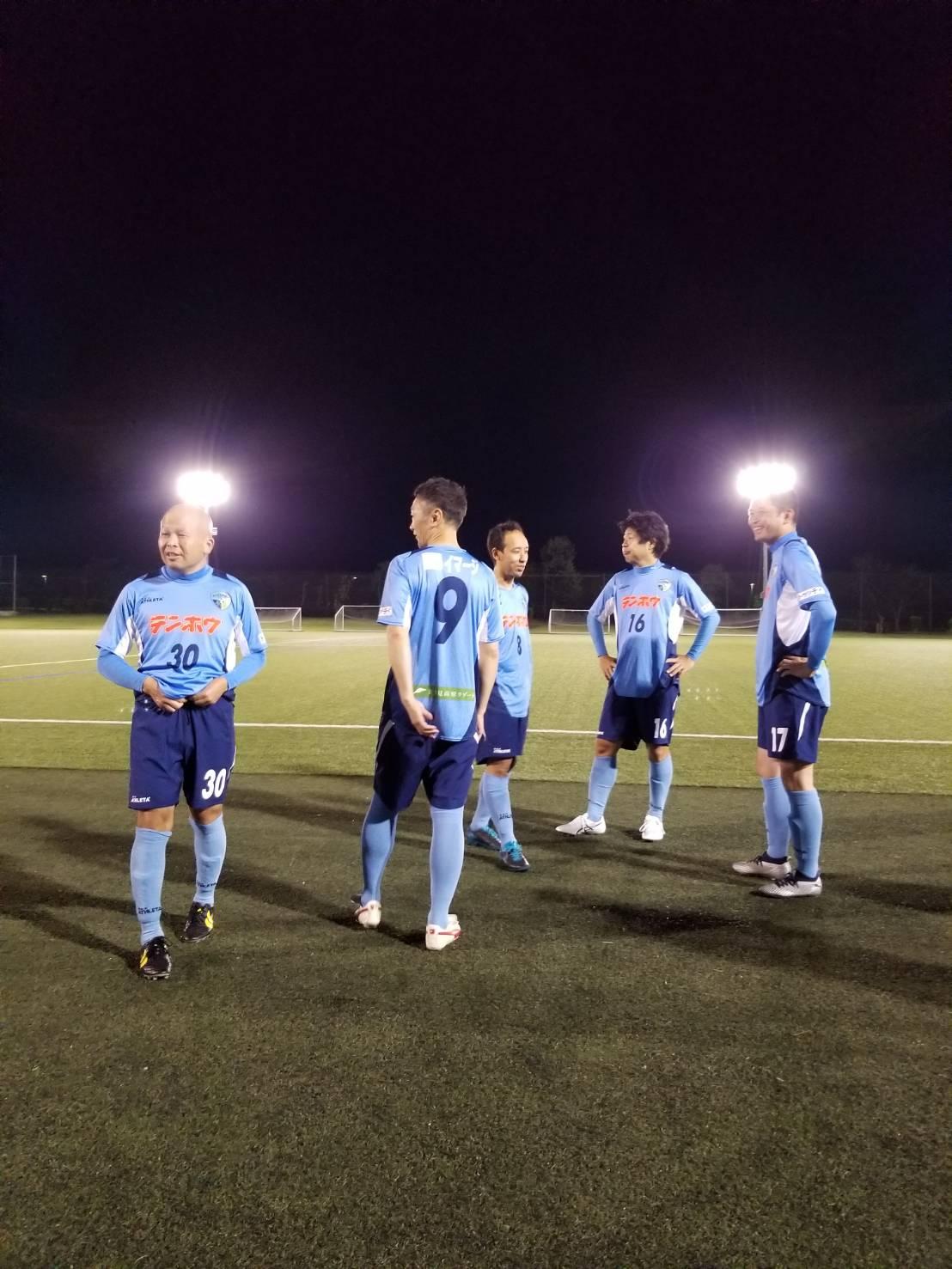 FCアビエス-試合前のウォーミングアップ