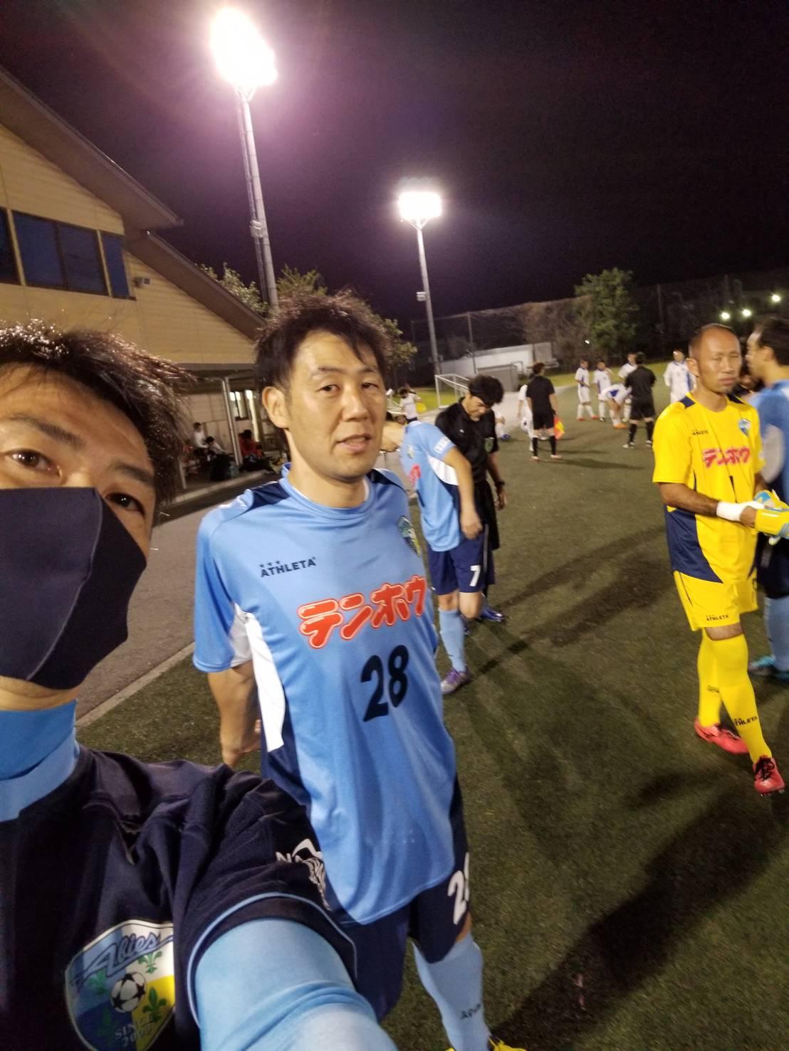 FCアビエス-試合前の選手