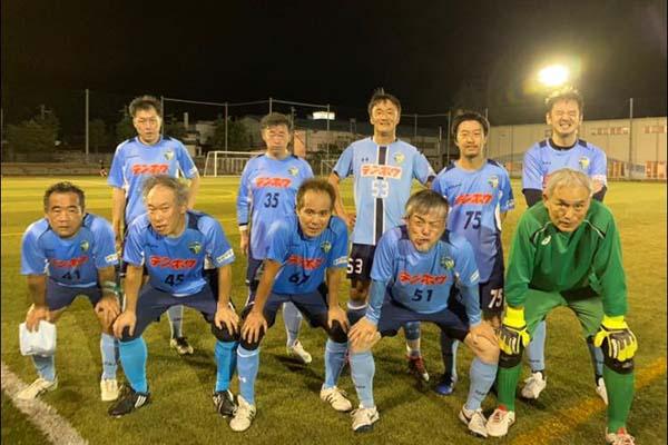 シニア50リーグ-第15節-FCアビエスシニア集合写真
